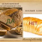 Напоминалка про белый хлеб