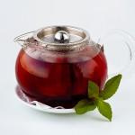 Чай вишневый с корицей — полезный, красивый, теплый:)
