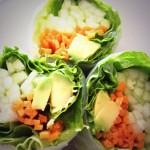 Весенние блинчики вегетерианские, полезные. Конечно, не жареные:)