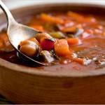 Сытные вегетарианские супы