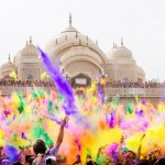 Праздник Холи — фестиваль красок и хорошего настроения!