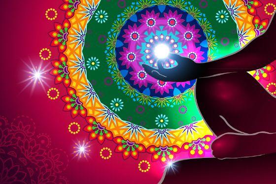 цветовая медитация