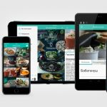 Мобильное приложение с рецептами Live up!